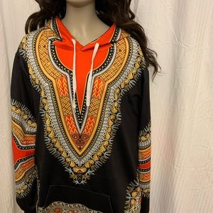Other - FASHIONABLE TRIBAL HOODIE *PLUS SIZE* 5X